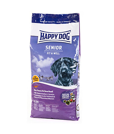 Happy Dog Hundetrockenfutter »Supreme Fit & Well Senior«, 12,5 kg - 12.5kg