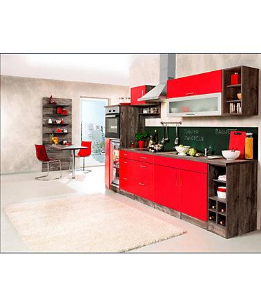 Held Möbel Küchenzeile »Sevilla«, mit Elektrogeräten, Breite 300 cm ...