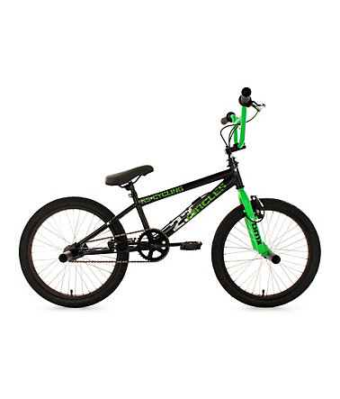 BMX Freestyle, 20 Zoll, grün, »Circles«, KS Cycling - grün - RH25cm