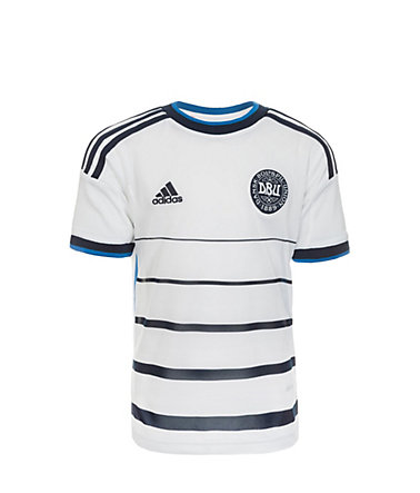 adidas Performance Dänemark Trikot Away 2014/2015 Kinder - weiß/blau - 128-XS128