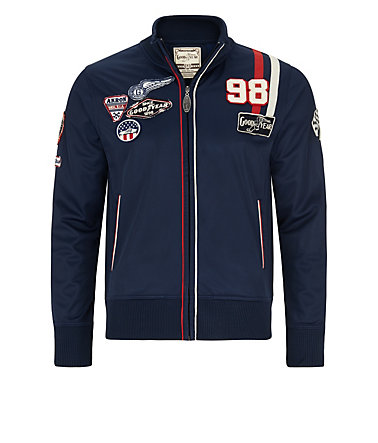 Goodyear Fleecejacke »WELLSTON« - Navy - L0