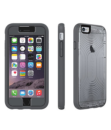 "Speck HardCase »MightyShell + Faceplate iPhone (6) 4.7"" Clear/Clea« - grau"