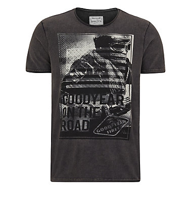 Goodyear T-Shirt »LOCKPORT« - Black - L0