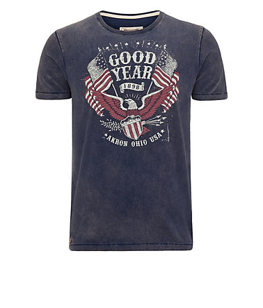 Goodyear T-Shirt »JAMESTOWN« - DarkNavy - L0