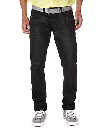 Bright Jeans Hüftjeans (Stretch) - schwarz - 2929 - 34