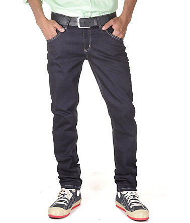 Bright Jeans Hüftjeans (Stretch) Regular fit - dunkelblau - 2929 - 34