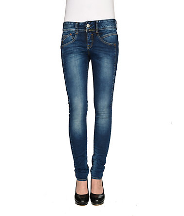 Herrlicher Jeans »Gila Slim Denim Powerstretch« - easyblue - 2626 - 32