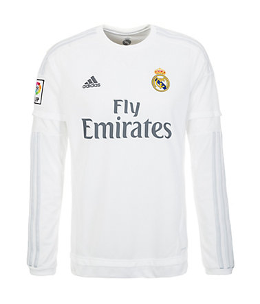 adidas Performance Real Madrid Trikot Home 2015/2016 Herren - weiß/hellgrau - L-540