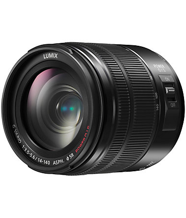 Panasonic H-FS14140E-K Superzoom Objektiv -