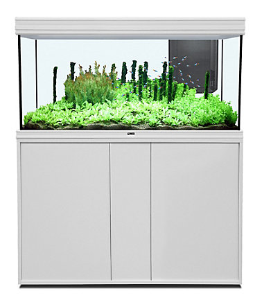 AQUATLANTIS Aquarien-Set »Fusion 120 LED«, BxTxH: 121x51x153 - weiß - 11