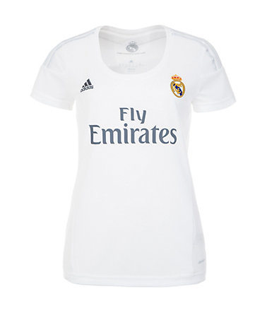adidas Performance Real Madrid Trikot Home 2015/2016 Damen - weiß/hellgrau - L-42/440