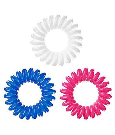 Invisibobble, Spiral-Haargummi (9-tlg. Set) - Blue/Pink/White