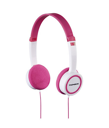 Thomson HED1105P On-Ear-Kinder-Kopfhörer - Pink