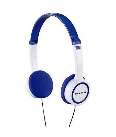 Thomson HED1105BL On-Ear-Kinderkopfhörer - Blau
