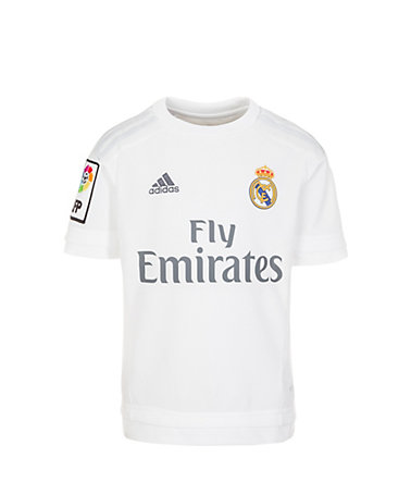 adidas Performance Real Madrid Trikot Home 2015/2016 Kinder - weiß/hellgrau - 128128