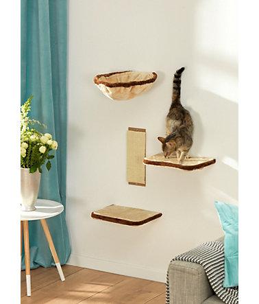 silvio design kletterwand katzen kratz kletterb ume. Black Bedroom Furniture Sets. Home Design Ideas