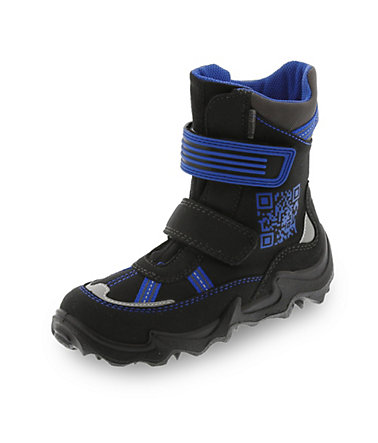 Superfit GORE-TEX® Winterstiefel - schwarz/royalblau - 3232