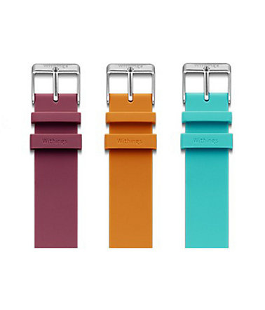 Withings Zubehör »Activité POP Armbänder - 3 Farben« - Türkis-Orange