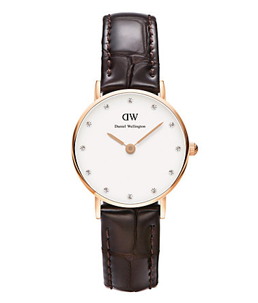 Daniel Wellington Quarzuhr »York, 0902DW« - braun
