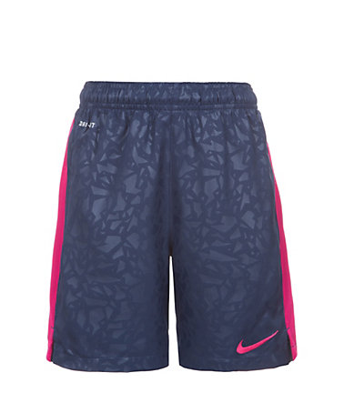 Nike Strike Longer Printed Graphic Short Kinder - dunkelblau/lila - L-147-158cm0