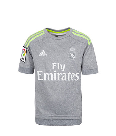 adidas Performance Real Madrid Trikot Away 2015/2016 Kinder - hellgrau/gelb - 128128