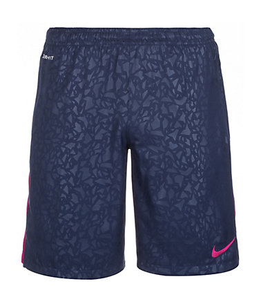 Nike Strike Longer Printed Graphic Short Herren - dunkelblau/lila - L-48/500