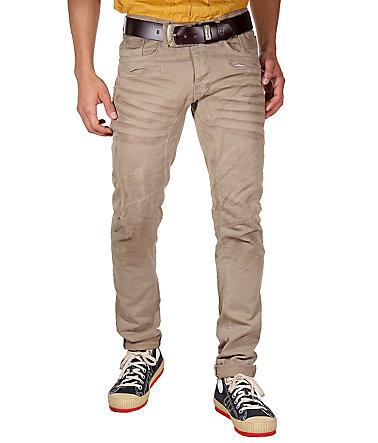 KINGZ Stretchjeans slim fit - khaki - 2929 - 34
