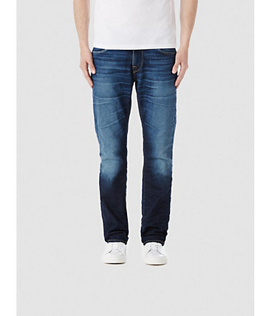 Selected Blaue Regular fit Jeans - MediumBlueDenim - Weite290 - Länge32
