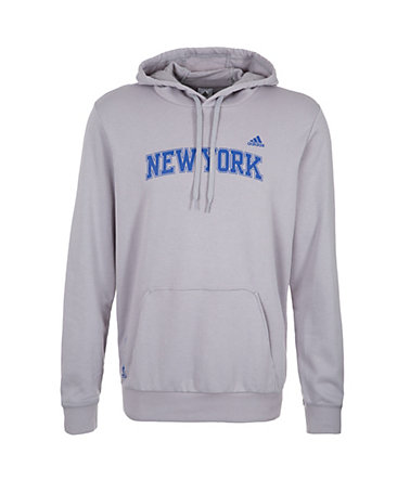 adidas Performance Price New York Knicks Kapuzenpullover Herren - grau/blau - L-540