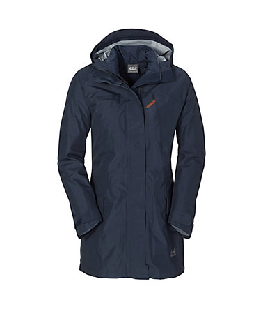 Jack Wolfskin Parka »CARTWRIGHT TEXAPORE 3IN1 PAR W« 2 teilig - nightblue - L(42/44)0