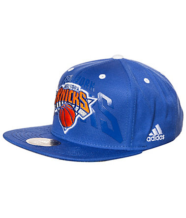 adidas Performance New York Knicks Anthem Cap Herren - blau/orange - L-58-60cm0