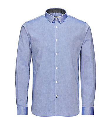 Jack & Jones Klassisches Businesshemd - PersianJewel - L0