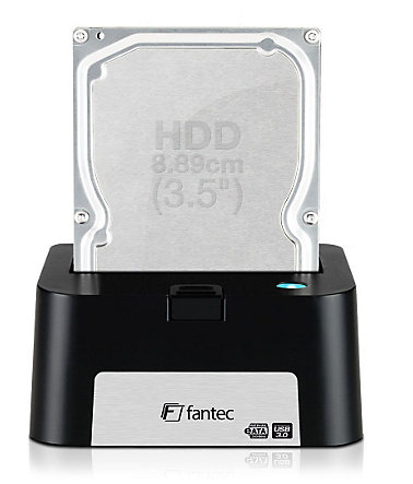 FANTEC HDD Docking Station » MR-U3e Docking Station (1598)« - schwarz
