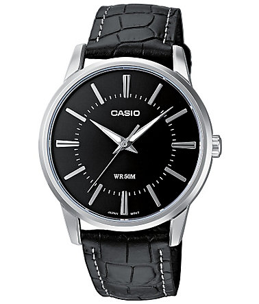 Casio Collection Quarzuhr »MTP-1303PL-1AVEF« - schwarz