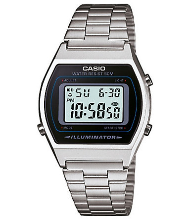 Casio Collection Chronograph »B640WD-1AVEF« - silberfarben