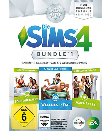 Electronic Arts PC - Spiel »Die Sims 4 Bundle Pack 1« -