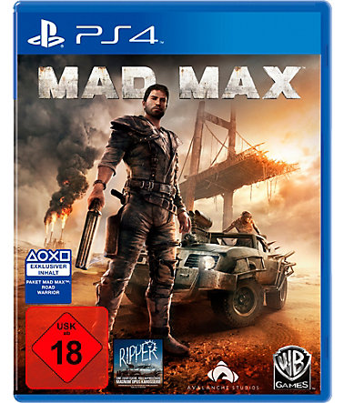 Mad Max PlayStation 4 -