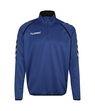 Hummel Stay Authentic Poly Trainingssweat Herren - blau/schwarz - L0