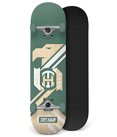 Tony Hawk Skateboard, »Militia Hedge« - grün