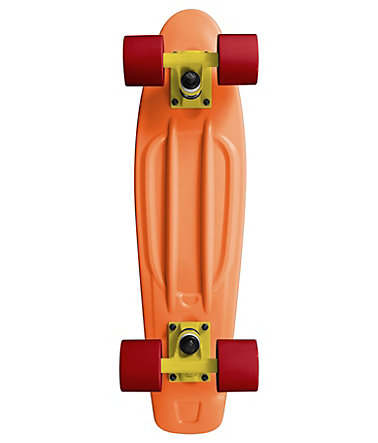 Ram Mini Cruiser Skateboard, »Old School« - orange