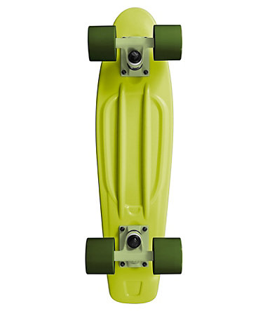 Ram Mini Cruiser Skateboard, »Old School« - grün