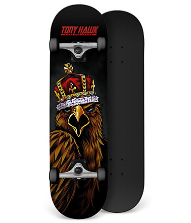 Tony Hawk Skateboard, »King Squak« - schwarz-rot