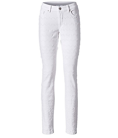 CLASS INTERNATIONAL FX Bodyform-Push-up-Jeans  - weiß - 3434
