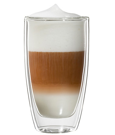 bloomix Latte Macchiato-Glas, 4er Set, »Roma«, 300 ml - transparent