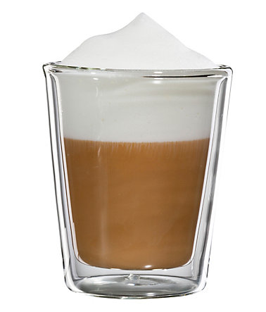 bloomix Cappuccino-Glas, 4er Set, »Milano«, 200 ml - transparent