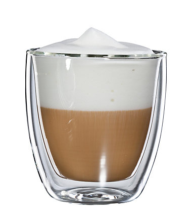 bloomix Thermoglas für Cappuccino, 4er Set, »Cappuccino Grande«, 250 ml - transparent