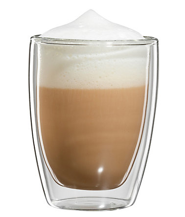 bloomix Cappuccino-Glas, 4er Set, »Roma«, 200 ml - transparent