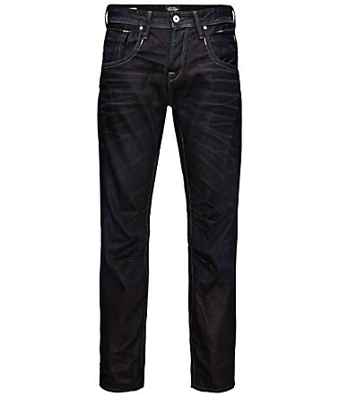 Jack & Jones Boxy Leed JJ 915 Loose Fit Jeans - BlueDenim - L(46/48)(30)0 - Länge34