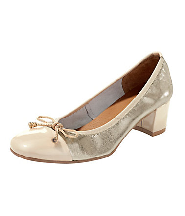 Heine Pumps  - goldfarben - 3535