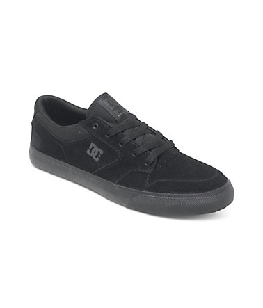 DC Shoes Low top »Nyjah Vulc« - Black/black - 3838